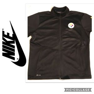 NIKE DRI FIT FULL ZIP MENS ATHLETIC JACKET SZ 2x